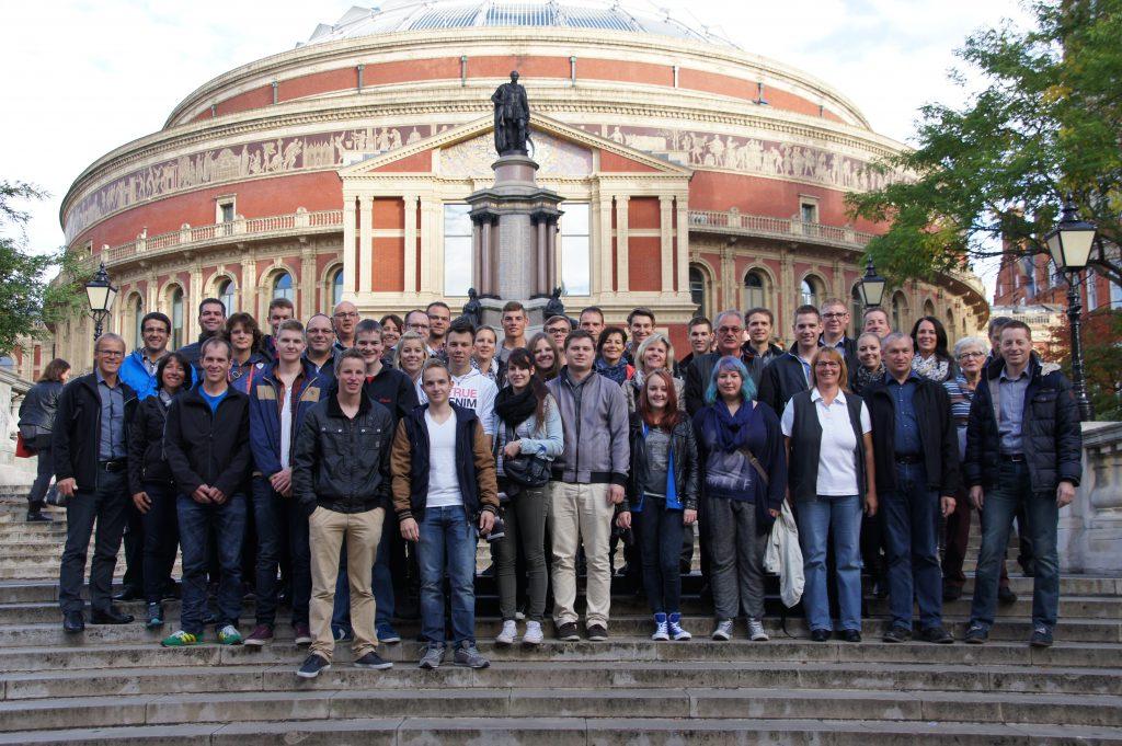 2014 – Musikreise nach London